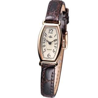 【Rosemont】玫瑰皇后時尚錶(TRS-018-05-BR)