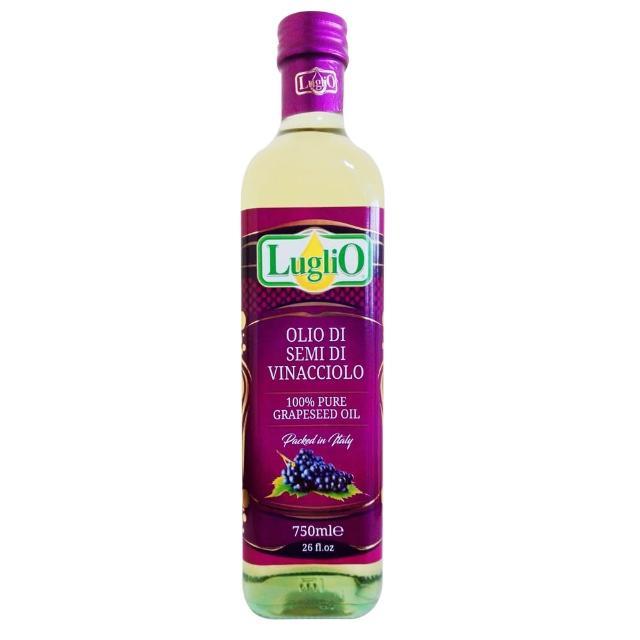 【LugliO 義大利羅里奧】特級葡萄籽油(750ml)