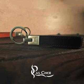 【PAS CHER 巴夏喀】極簡小方鑰匙圈(特惠雙件組)
