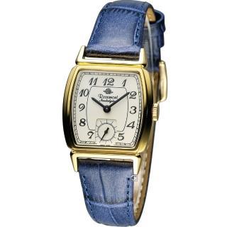 【Rosemont】戀舊系列 酒桶型時尚腕錶(TN005-YW-EBU 藍)