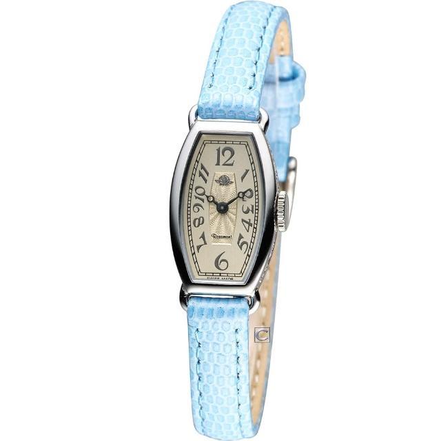 【Rosemont】玫瑰皇后時尚錶(TRS-018-03-LBU)