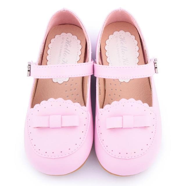 【三麗鷗】Hello Kitty 中童 法式典雅公主鞋(715938-粉)
