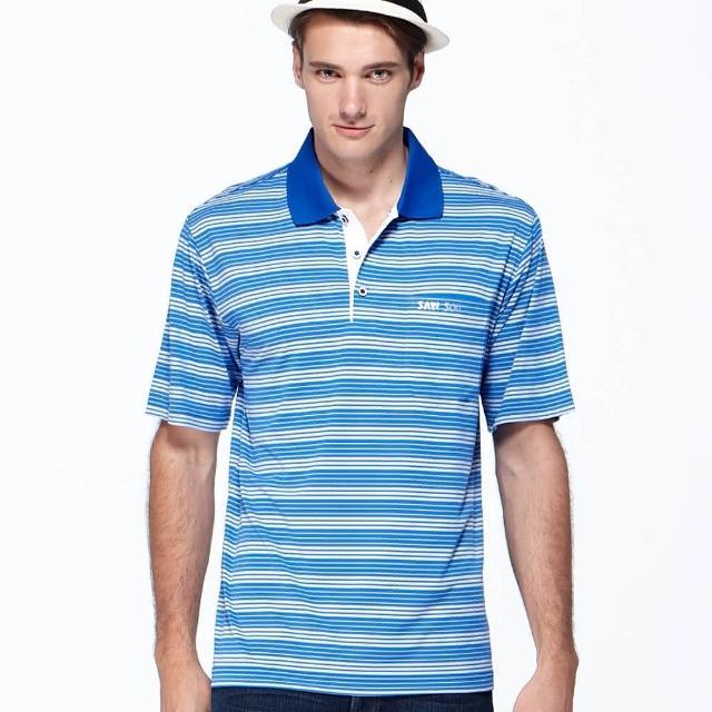 【SAIN SOU】台灣製吸濕排汗POLO衫(T26515)