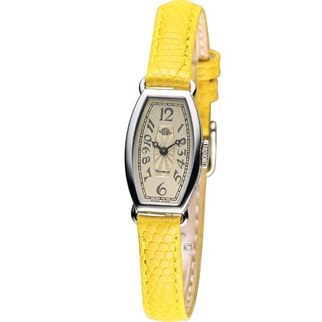 【Rosemont】玫瑰皇后時尚錶(TRS-018-03-YW 黃)