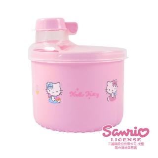 【HELLO KITTY】加大旋轉奶粉盒(兩色)