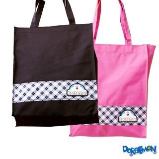 【哆啦A夢】MIT 手提萬用袋(粉/黑 DO6279)