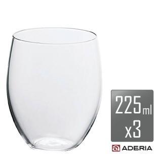 【ADERIA】薄吹精製啤酒杯S(3入組)