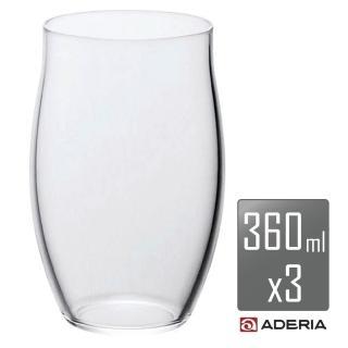 【ADERIA】薄吹精製啤酒杯L(3入組)