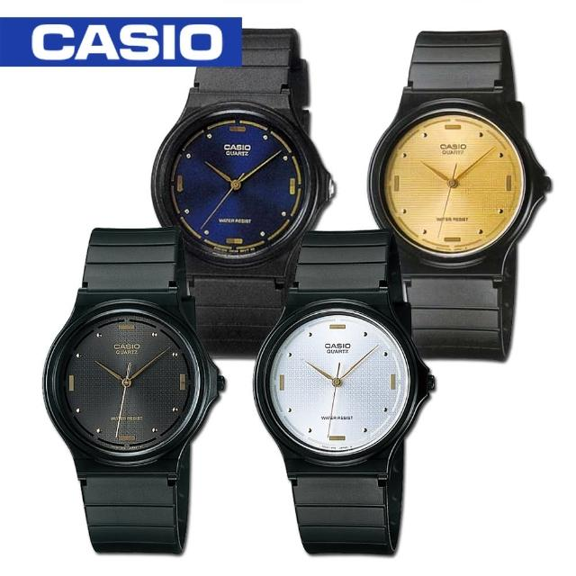 【CASIO 卡西歐】日系-簡約指針中性錶 鏡面3.38cm(MQ-76)