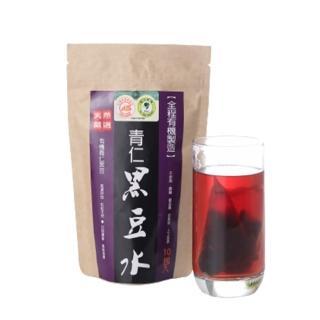 【台灣好品-全程有機認證】天然有機青仁黑豆水-無咖啡因(100包組)
