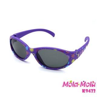 【Mola Mola 摩拉.摩拉】安全偏光嬰幼兒 寶寶 兒童太陽眼鏡 3歲以下(K-9433)