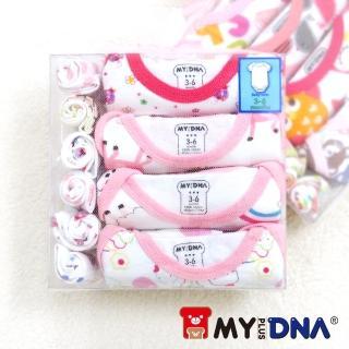 【MY+DNA熊本部】十件組紗袋彌月禮盒(短袖女款)