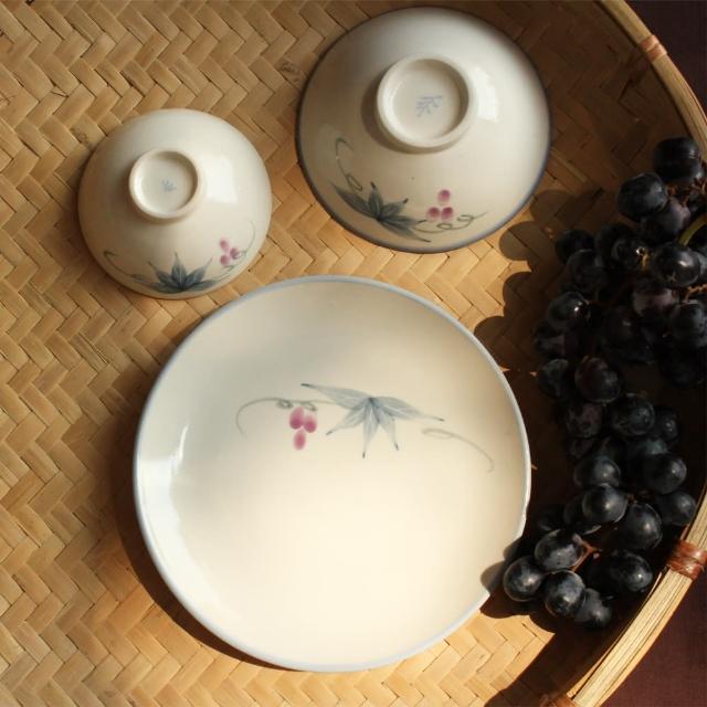 【PEKOE飲食器】葡萄中盤‧2入