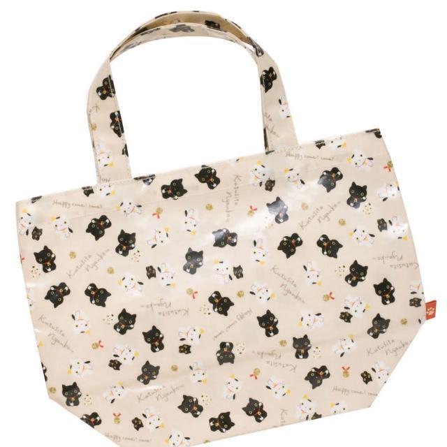 【San-X】小襪貓招福貓系列手提袋