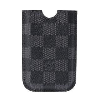 【LV】N62669 Damier Graphite IPHONE手機套(黑灰)