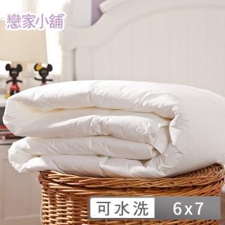 【樂芙】物理性防蹣超微米級防潑水布可機洗四季被裝入薄被套內變涼被!(白)