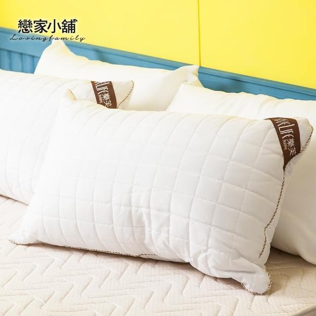 【樂芙】熱賣商品可水洗QQ枕防潑水表布車格設計(兩入)