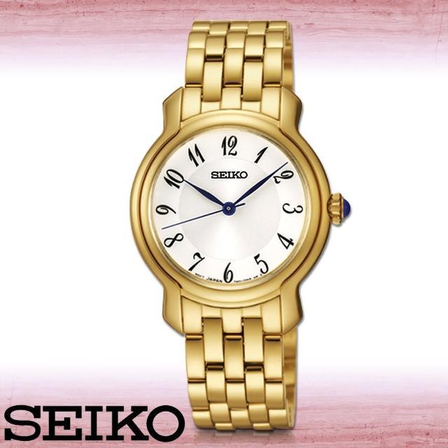 【SEIKO 精工】送禮首選 數字石英指針女錶 錶殼3公分(SRZ392P1)