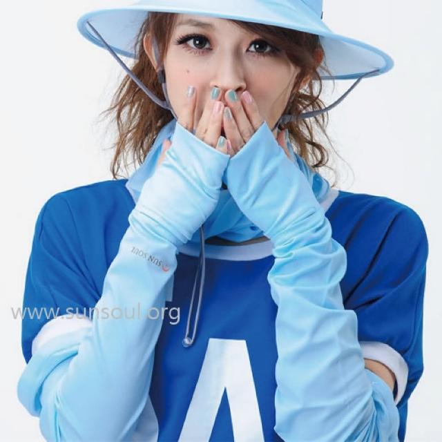 【SUNSOUL】光能袖套-F(藍光)