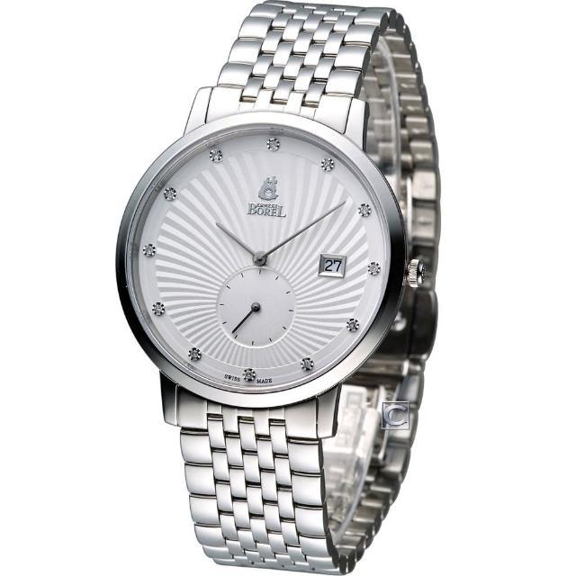 【依波路 E.BOREL】喬斯系列尊貴石英男錶(GS809L-4590)