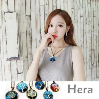 【Hera】赫拉 星空時光寶石圖騰樹系列項鍊/半長鍊(六款任選)