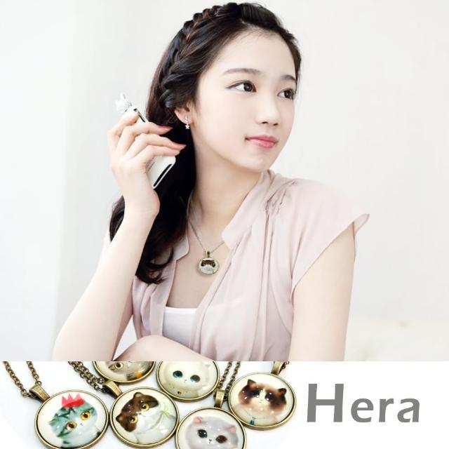 【Hera】赫拉 貴族貓咪物語時光寶石項鍊/鎖骨鍊(七款任選)