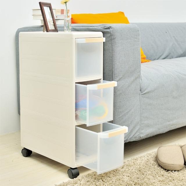 【ikloo宜酷屋】日系可移式細縫收納櫃