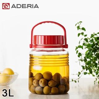 【ADERIA】日本進口手提式玻璃瓶3L