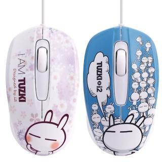 【i2】兔斯基Speedy有線滑鼠