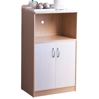 【TZUMii】雙門廚房收納櫃(電器櫃 附插座)