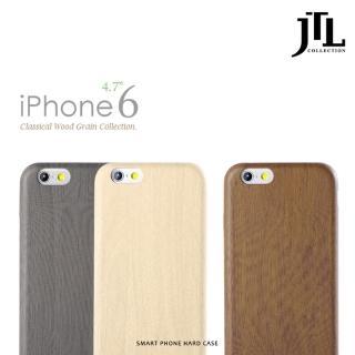 【JTL】iphone6 4.7吋-經典細緻木紋保護套系列限量典藏款(白樺木/胡桃木/黑檀木)