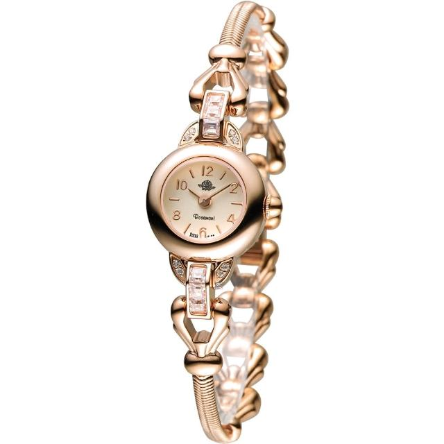 【Rosemont 玫瑰錶】藤蔓玫瑰系列II時尚腕錶(TRS-031-05-MT 玫瑰金色)