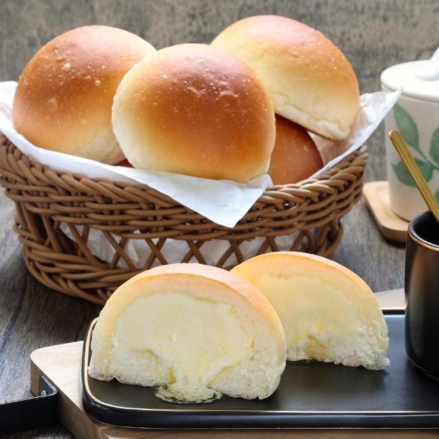 【鮮食家任選799】美食村日式爆漿餐包(10入/盒)