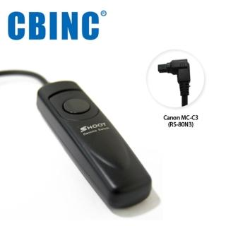 【CBINC】C3 電子快門線 For CANON RS-80N3