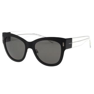 【MARC BY MARC JACOBS】-時尚太陽眼鏡(黑色/奶茶色)