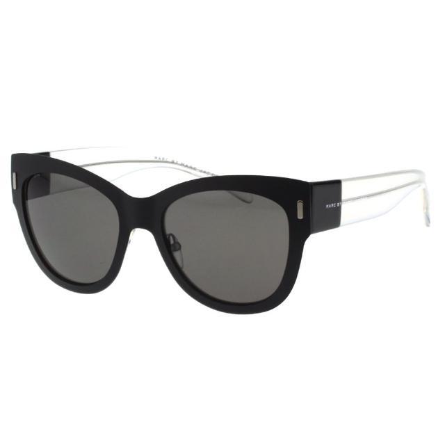 【MARC BY MARC JACOBS】-時尚太陽眼鏡(黑色╱奶茶色)