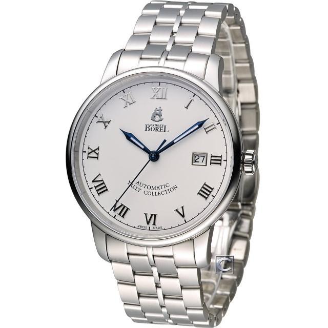 【依波路 E.BOREL】雅麗系列 II紳士機械男錶(GS5680N-431)