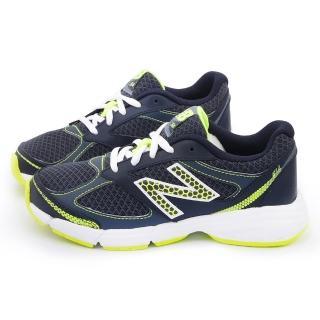 【NewBalance】大童 寬楦避震運動鞋(KJ514GYY-藍)