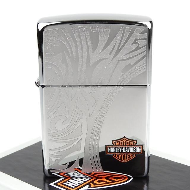 【ZIPPO】美系-哈雷-Harley-Davidson-雷射雕刻花紋圖案設計打火機
