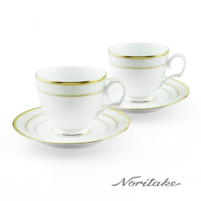【NORITAKE】花舞春風金邊對杯(金邊-兩入組)