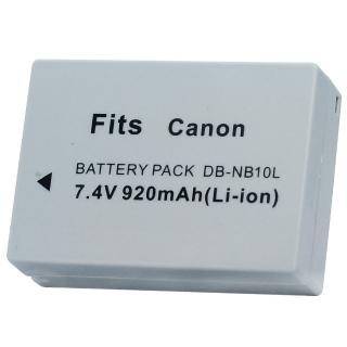 【Kamera】鋰電池for Canon NB-10L / NB10L(DB-NB-10L / NB10L)