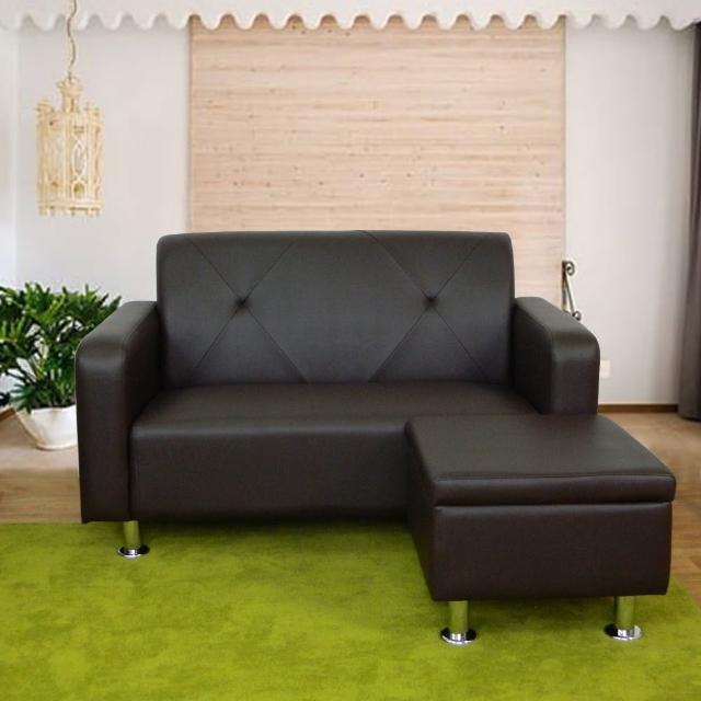 【時尚屋】東京都會風二人座L型鐵腳沙發(ZU5-2-2T+ZU5-2-4T)