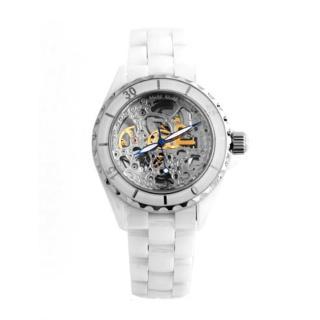 【Valentino范倫鐵諾】藍寶石水晶高精密全陶瓷自動上鍊機械手錶腕錶
