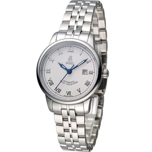 【依波路 E.BOREL】雅麗系列 II優雅機械女錶(LS5680N-431)