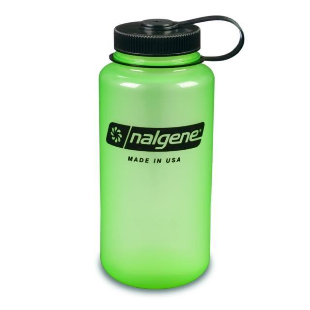 【Nalgene】寬嘴水壼1000cc(發綠光)