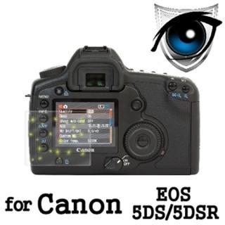 【D&A】Canon EOS 5DS/5DSR 日本原膜增豔螢幕貼(9H防藍光疏油疏水型)
