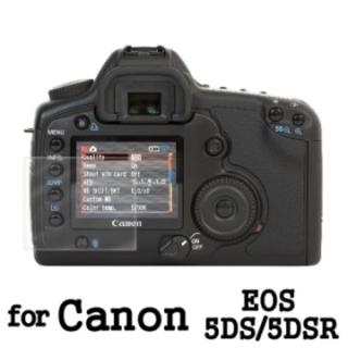 ~D  A~Canon EOS 5DS 5DSR 原膜HC螢幕保護貼^(鏡面抗刮^)