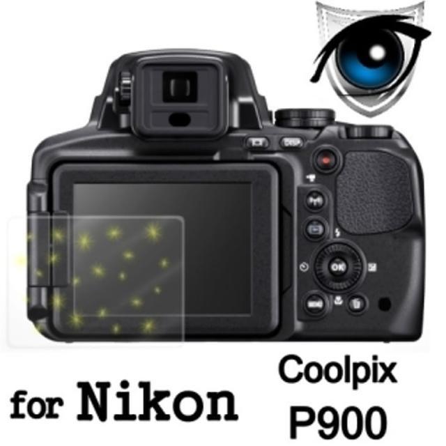 【D&A】Nikon Coolpix P900日本原膜增豔螢幕貼(9H防藍光疏油疏水型)