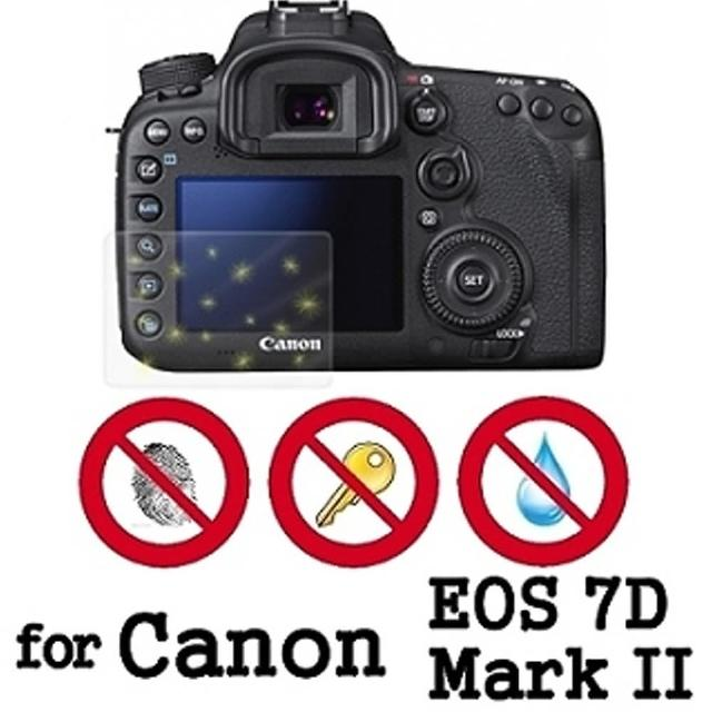 【D&A】Canon EOS 7D Mark II 日本原膜螢幕貼(NEW AS玻璃奈米型)