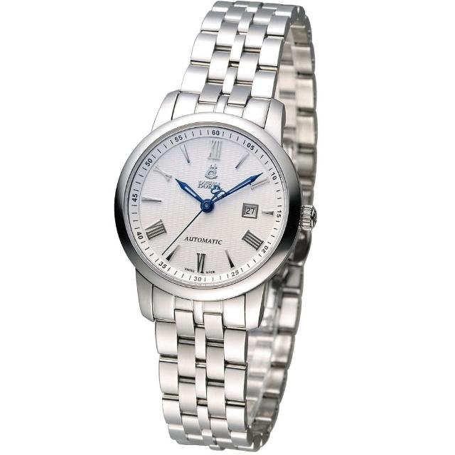 【依波路 E.BOREL】祖爾斯系簡約機械女錶(LS9288-25321)